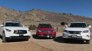lexus rx 350 reviews uk 2013 lexus rx 350 vs mercedes benz glk vs infiniti fx37 0 60 53k