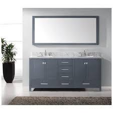 72 Double Sink Bathroom Vanity by 48 Best Grey Bathroom Vanities Images On Pinterest Gray