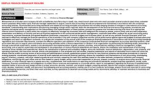 trade finance manager resumes u0026 cover letters
