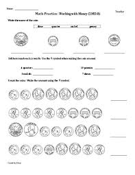 31 2nd grade money worksheets can you buy it 2nd grade math