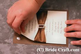 how to make wedding invitations wedding invitation