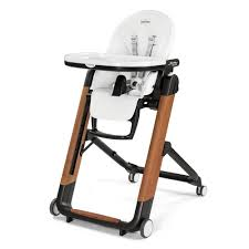 Peg Perego Siesta High Chair Replacement Cover by Peg Perego Siesta High Chair Wood Bianco Special Edition