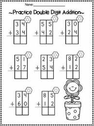 addition with and without regrouping grade two digit addition without regrouping with additional