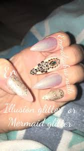 89 best acrylic and gel nail extensions with nail art and