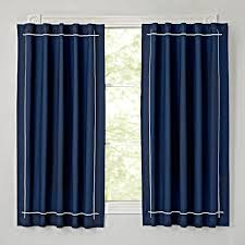 genevieve gorder navy blackout curtain the land of nod