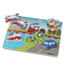 kidkraft transportation sound puzzle toys