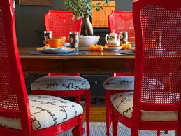 red painted bedroom furniture modrox com how to paint a dining room table red decor
