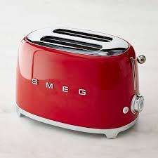 Toaster And Kettle Set Red Smeg 2 Slice Toaster Williams Sonoma