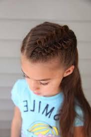 fille originale coiffures pour enfants idée coiffure fille originale