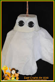 halloween craft for kids spooky little ghost