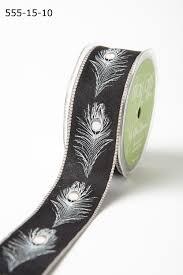 gray ribbon 1 5 inch ribbon buy wholesale ribbons online may arts