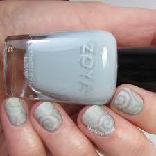 40 great nail art ideas pale blue base swirls with zoya whispers