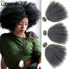 Natural Virgin Hair Extensions by Virgin Indian Curly Hair 4pcs Unprocessed Curly Human
