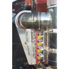 peterbilt air cleaner lights peterbilt lights peterbilt 359 15 inch vortox front air cleaner