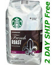 Starbucks Light Roast French Roast Coffee Beans Ebay