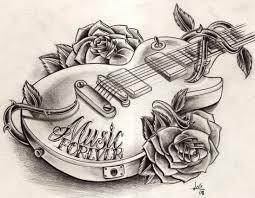 guitar drawing ideas guitar