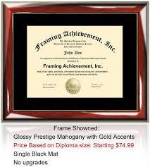certificate frame college diploma frame graduation degree certificate frames