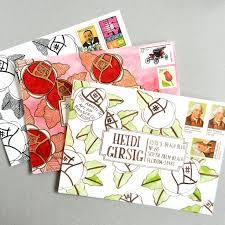 112 best diy envelope art images on pinterest envelope art