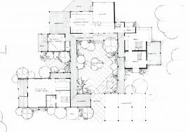 center courtyard house plans uncategorized house plan with atrium in center stupendous inside