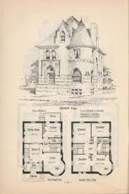 Housing Blueprints by 2369 Best 1800 U0027s 1940 U0027s House Plans Images On Pinterest Vintage
