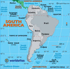 map of america with cities south america map map of south america worldatlas