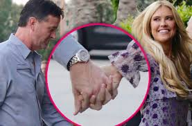 Tarek And Christina El Moussa by Christina El Moussa Divorce Holding Hands New Boyfriend