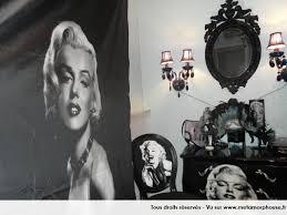 chambre marilyn photos décoration de chambre d ado fille bleu blanc de ds13