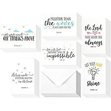 48 pack inspirational bible verse quote greeting