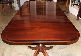 large oval mahogany double pedestal dining room table with double pedestal solid mahogany antique dining table leaf furniture