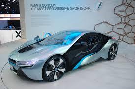 sport cars bmw bmw i8 concept live photos 2011 frankfurt auto show