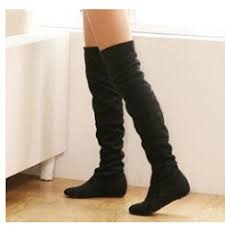womens boots no heel knee high boots no heel on the hunt