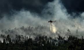Wildfire Near Fort Collins Colorado by Bigger Hotter Faster Biographic