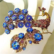 77 best vintage jewels images on rhinestones brooches