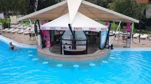 Swimming Pool Canopy by Swimming Pool Korali At Pancharevo Lake Bulgaria Youtube