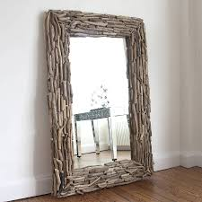 Wood Mirror Frame Furniture Appealing Oversized Mirrors For Home Furniture Ideas