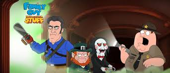 famous horror characters terrorize family guy game for halloween