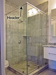 Shower Door Header Plan And Design Your Frameless Shower Dulles Glass And Mirror
