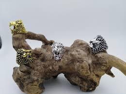 art glass lion ring holder images Buy new smoke ring lion design cigarette holder jpg