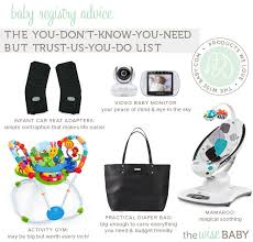 popular baby registry baby registry advice the wise baby