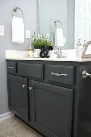 Grey Bathroom Cabinets Painted Bathroom Cabinets Kate