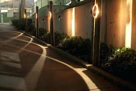 outdoor fence lighting ideas outdoor fence lighting ideas brilliant ideas outdoor fence lighting