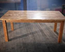 Harvest Kitchen Table by 8 U0027 Harvest Table Solid Wood Farmhouse Dining Table With