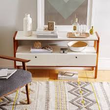 West Elm Console Table by Modern Media Console 122 Cm West Elm Au