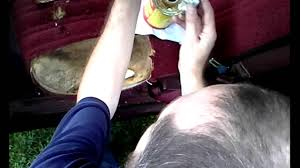 filling a foam hole in a bench seat c1500 chevy truck youtube