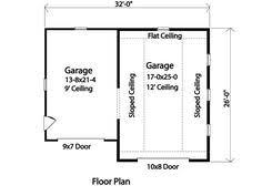 just garages 2nd floor plan 062g 0088 garage apartment pinterest garage