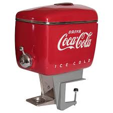 Coca Cola Chairs Pristine Restored Raymond Loewy Outboard Motor Dispenser For Coca