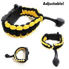 adjustable paracord bracelet images Adjustable paracord bracelet 550 grade with survival sos led light jpg