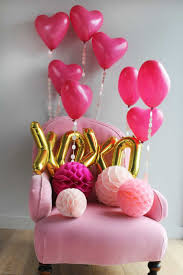 Balloon Decoration Ideas For Birthday Party At Home Best 25 Pink Balloons Ideas On Pinterest Pink Color Pink