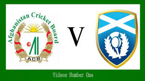 afghanistan cricket team in cup icc afghanistan vs scotland