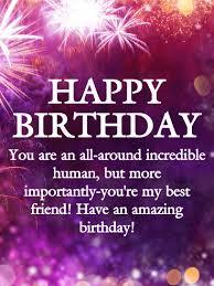 to an friend happy birthday wishes card birthday